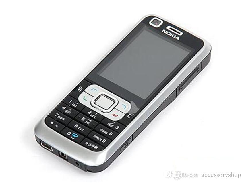 Refurbished Original Nokia 6120 Classic 6120C Unlocked 2.0 inch Screen 2.0MP Camera Bluetooth WCDMA 3G Cheap Mobile Cell Phone Post