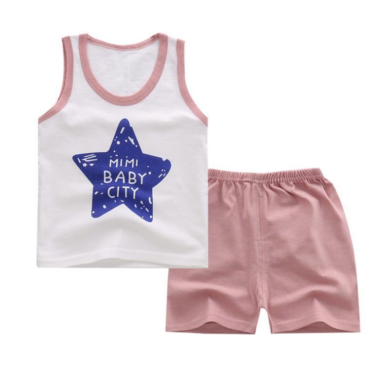 17111defb 2019 / Set Summer Children'S Vest T Shirt Shorts Pant Suit Boys ...