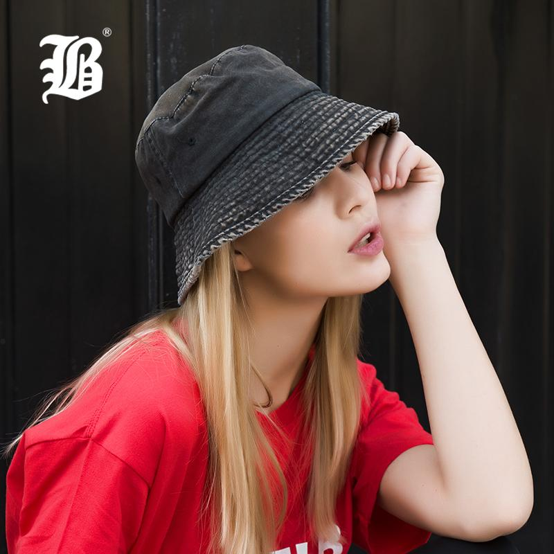 2019 FLB Summer 100% Washed Cotton Denim Sun Hat Women Fashion Floppy Outdoor  Cap Ladies Wide Brim Beach Bucket Hats Wholesale F157 D18110601 From  Shen8409 43b10b0a1405