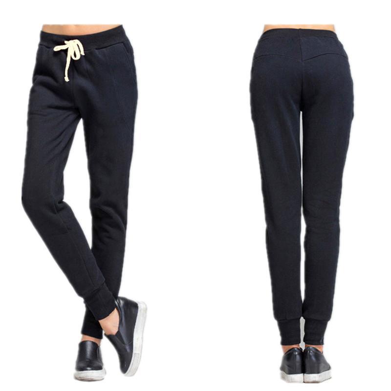 Acheter Épais Velours Pantalons En Vrac Femmes Automne Hiver Polaire  Pantalons De Survêtement Chaud Grande Taille 6xl Sportwear Jogger Pantalon  Femme De ... 8e23e1c4803
