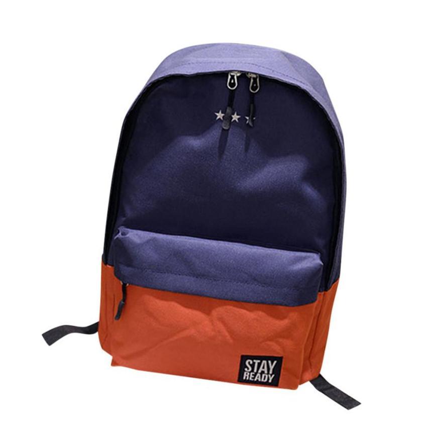 MOLAVE Backpack Unisex Backpack Solid Laptop Backpack Zipper Fashion  Neutral School Rucksack Bag BackpacBookbag Apr7 Backpacks Cheap Backpacks  MOLAVE ... 12b281e5984b6