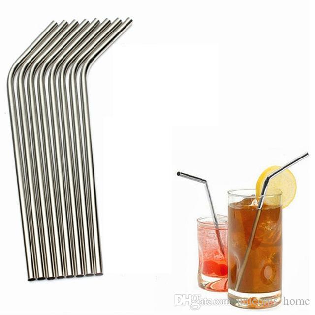 Paslanmaz Çelik Hasır Paslanmaz Çelik Hasır Çelik Payet İçme Kullanımlık ECO Metal Straw Bar İçme Payet İçme CNY150