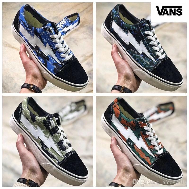 2018 VANS Revenge X Storm Pop-up Store Old Skool Skateboard Shoes Women Men Low Cut Designer Vans Shoe Canvas Casual Sneakers 36-44 pay with visa cheap online outlet manchester great sale pvZOEoTUP