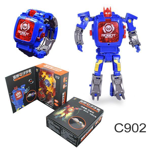 bc3c16886 ... Relógios De Pulso Transformadores Relógio Eletrônico Crianças Robô  Relógios Manual Deformed Robot Relógio Digital A774 De Mobileitem, $6.66 |  Pt.Dhgate.