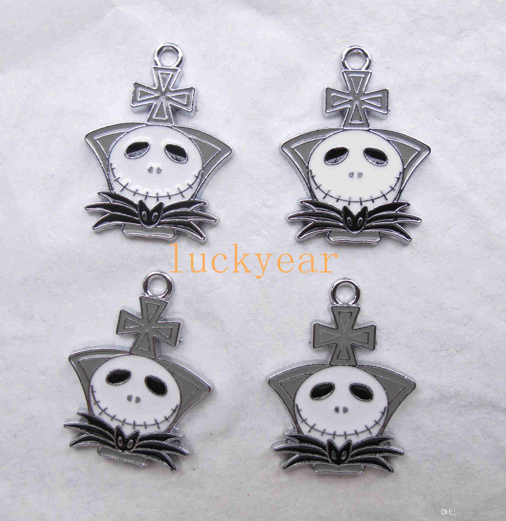 2018 new the nightmare before christmas diy jewelry making metal charm pendant jewelry making party gifts b77 from luckyear 024 dhgatecom - Making Of Nightmare Before Christmas