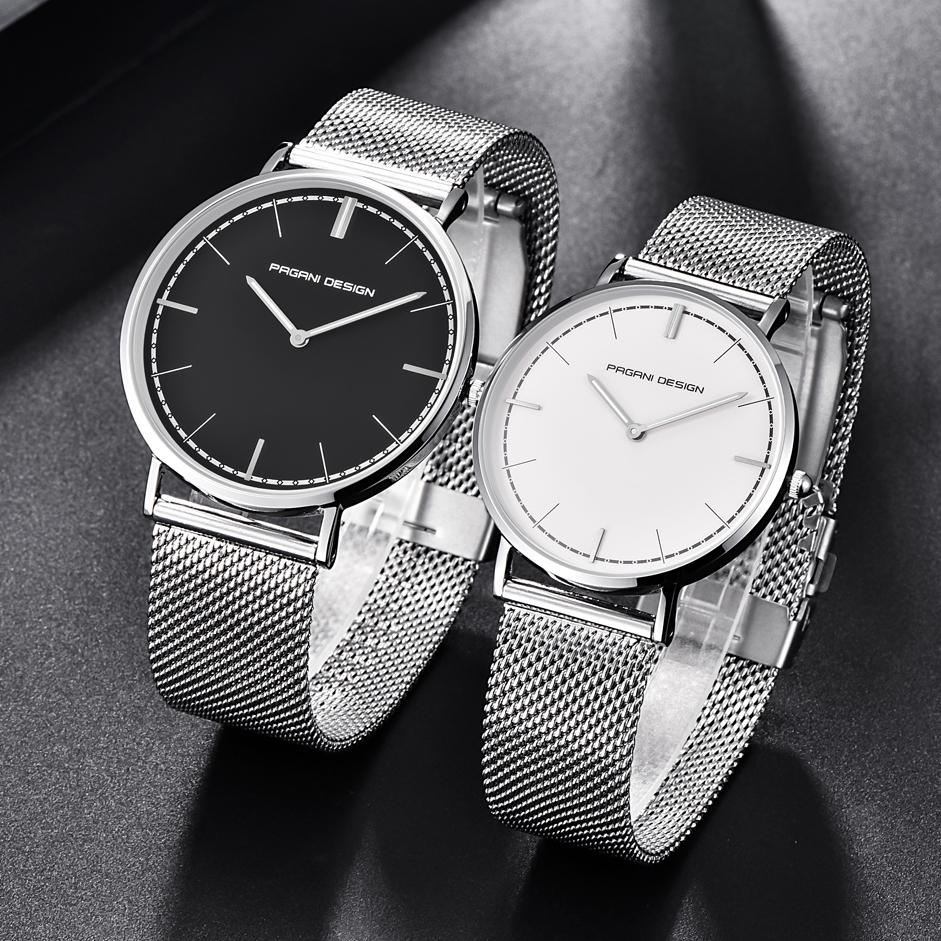 Pagani Design Japan Quartz Couple Watches Mesh Stainless Steel Pd Simple 2 Hands Analog Watch Women Men Wristwatches 2772m Online Shopping Wrist Buy