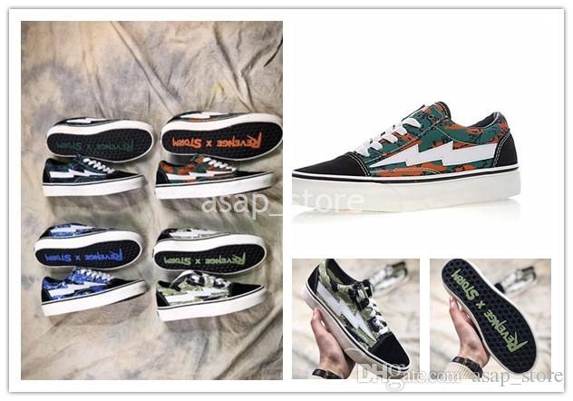 New 2018 Yezee Calabasas Stylist Ian Connors Revenge X Storm Old Skool Camo Sneakers kanye west calabasas Men Women Casual Canvas Shoes reliable online cheap sale fake clearance newest B2jqk