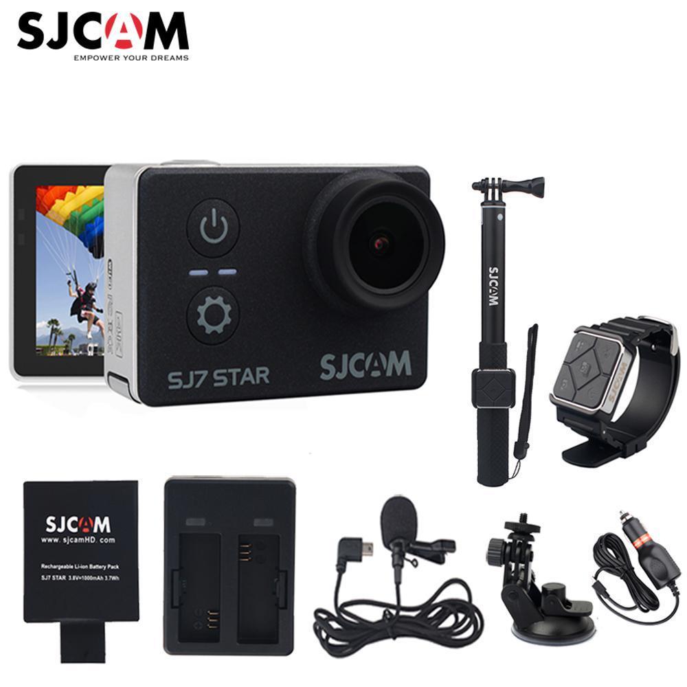 Original Sjcam Sj7 Stern Wifi 4 K Gyro Touch Ambarella A12s75 30 M Wasserdichte Fernbedienung Sport Action Kamera Mini Dvr Sport & Action-videokameras Unterhaltungselektronik