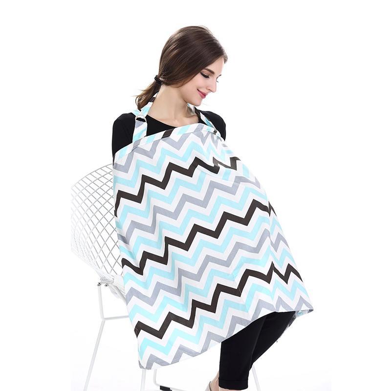 d5f615f19 Cubierta de lactancia para bebés Cubierta de alimentación para bebés Ropa de  algodón transpirable Cubiertas de enfermería Delantal de enfermería Manta de  ...