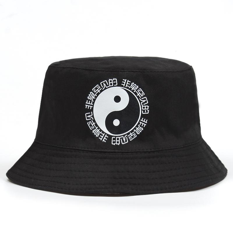 dcdc6b50155 2018 New Unisex Harajuku Bucket Hat Fishing Outdoor Gossip Printed Sun Hat  Cap Men s Summer For Fisherman Women Bone Hat Embroidery Cap Rack From  Hongshaor