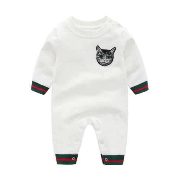 2055324a0 2019 Retail Baby Girl Romper Newborn Sleepsuit Flower Baby Rompers ...