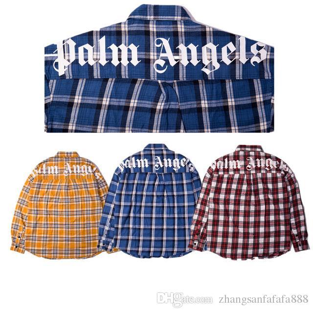 Acquista 2019SS Palm Angels Camicie Uomo Donna Alta Qualità Con Etichetta  PA Fashion Top Tees HIP HOP Palm Angels Camicie M XL A  39.59 Dal ... 84b9a20a0727