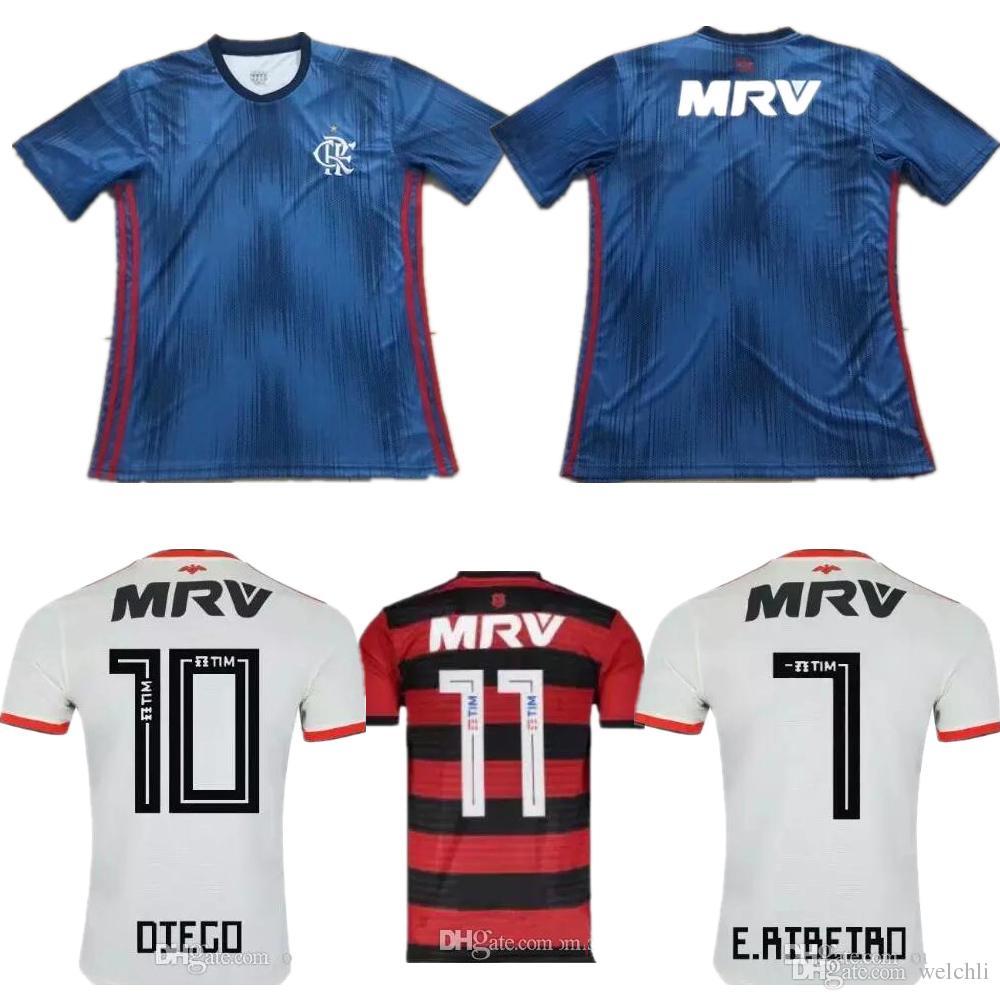 486d1c64f Perfect 2018 Flamengo Home Away Third Soccer Jerseys Custom Name Number  GUERRERO DIEGO Football Shirts AAA Fotbul LUCAS PROUETR Flemish UK 2019  From Welchli ...