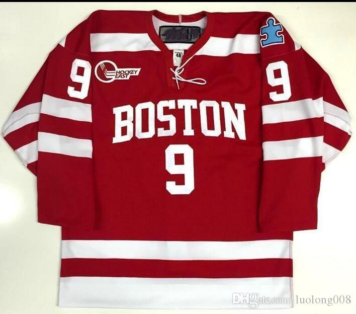 478cd6db87b Großhandel 9 Jack Eichel Boston Nam Universität Hockey Jersey Stickerei  Genäht Passen Sie Jede Nummer Und Namen Trikots. Von Luolong008, $52.79 Auf  De.