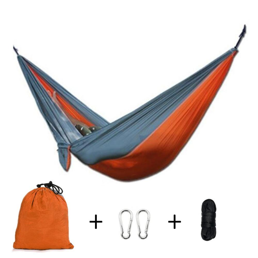 Outdoor Swing Hammock Adult Couple Two People Strengthen Parachute