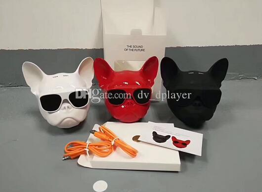 The big dog head bluetooth speaker phone computer wireless low sound gun card stereo factory direct sale