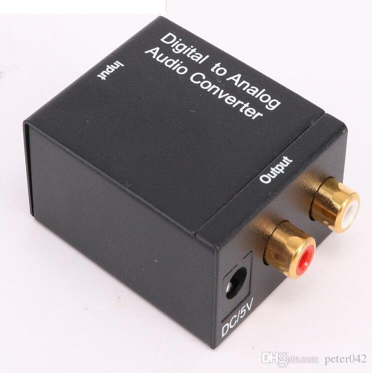 Digitas ao conversor audio análogo Digital ao cabo coaxial do conversor 3.5m USB da fibra