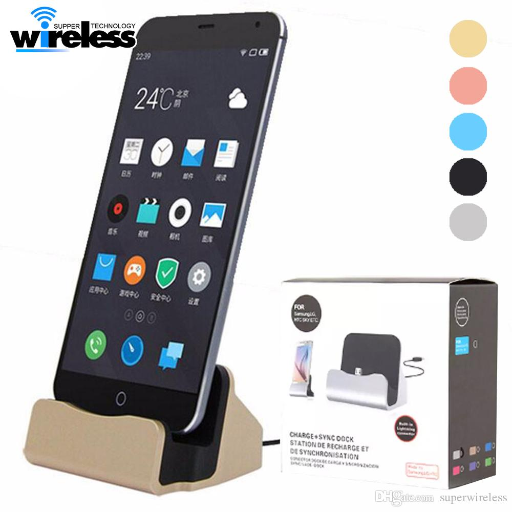 sale retailer 27ade 0fe6e Wall Charger Docking Stand Station Cradle Charging Sync Dock With Retail  Box For iphone Xs Max Xr Samsung S6 S7 S8 Note 5