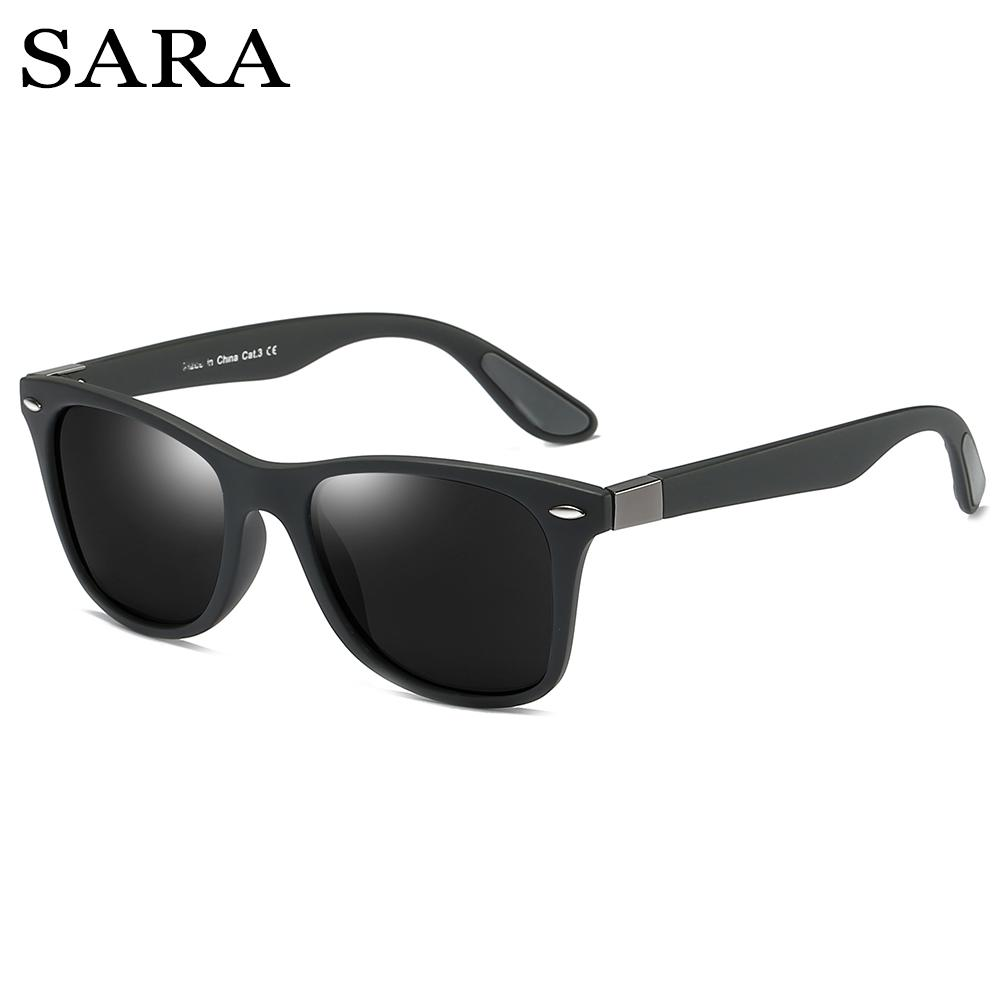 648a8690ca Compre SARA Marca Gafas De Sol De Alta Calidad Gafas De Sol Polarizadas  Estilo Deportivo Gafas De Sol De Moda Para Hombres Lentes Polaroid  Conductor Gafas A ...