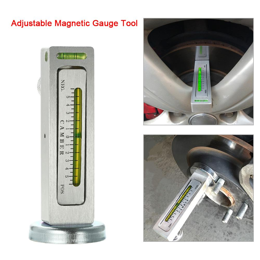 Universal Adjustable Magnetic Gauge Tool Camber Castor Strut Wheel Alignment Truck Car Camber Castor Strut Wheel Alignment Auto