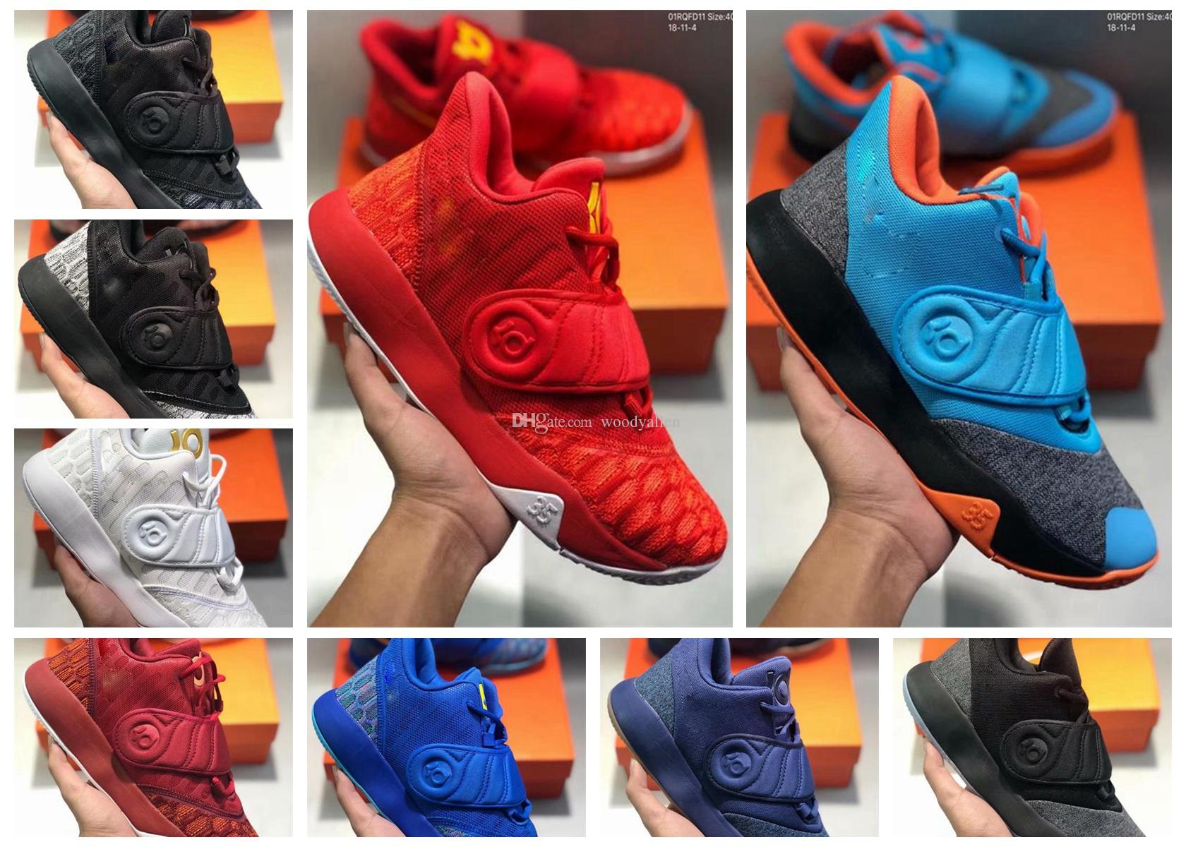 4fcf2bacf59e New Arrival KD TREY 5 V EP Kevin Durant Casual Shoes For Top Quality 5s KD5  Black Blue Red Men Designer Sneakers Size 40 46 Shoe Sale Shoes Uk From ...