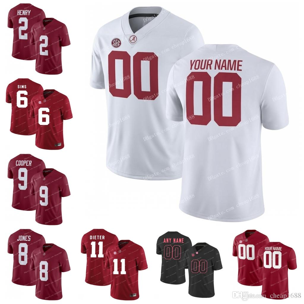 competitive price fd330 7093a Alabama Crimson Tide #17 Cam Sims 20 Shaun Dion Hamilton 21 Dre Kirkpatrick  22 Ryan Anderson 2018 GAME NCAA College Football Jerseys