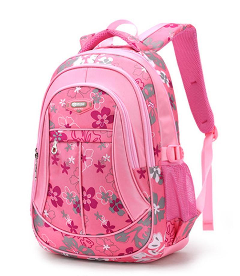 New Floral Printing Children School Bags Backpack For Teenage Girls Boys  Teenagers Trendy Kids Book Bag Student Satchel Mochilas Y18100705 Skate  Backpacks ... cc88e144b2090