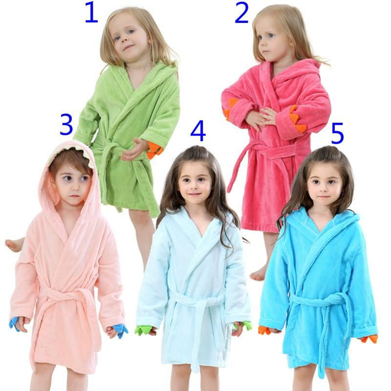 965933c3d 2019 Hooded Bathrobe Bath Towel Cloak Robes Pajamas Sleepwear ...