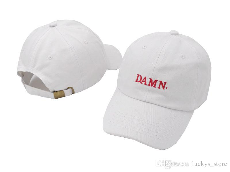 Rage beyzbol kapaklar DAMN snapback şapka hip hop streetwear marka şapkalar moda stil ayarlanabilir strapback spor golf şapka