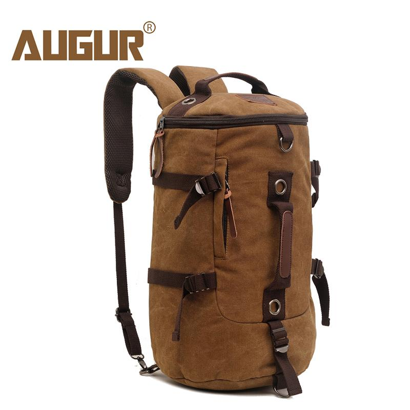 dc2a84f1fa3b AUGUR Men Travel Duffle Bag Large Capacity Handbag Male Tourist Backpack  Canvas Messenger Multifunction Shoulder Travel Bags Holdall Sports Bags  From Bokulu ...