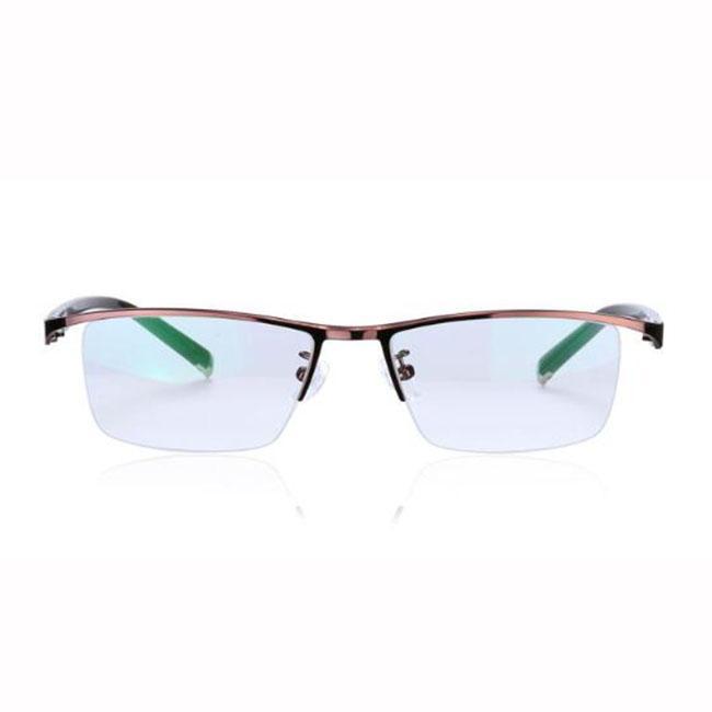 b465f31643 Compre Gafas De Lectura Progresivas Gafas Fotocromáticas Cambio De Color  Gafas De Lentes Marco De Metal Marrón Hombres Lector De Ojos + 1.0 ~ + 3.0  Fuerza A ...