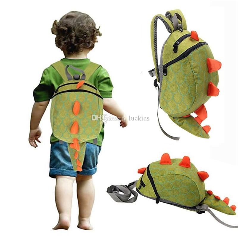 373c4cade371 Safety Harness Backpack Kids Toddler Backpack with Safety Harness Leash  Playful Preschool Kids Lunch Bag, Dinosaur 0161