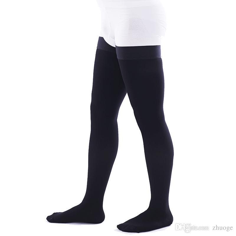 009092d02f5 2019 Men Women Leg Anti Fatigue Support Stretch Compression Socks Varicose  Stockings From Zhuoge