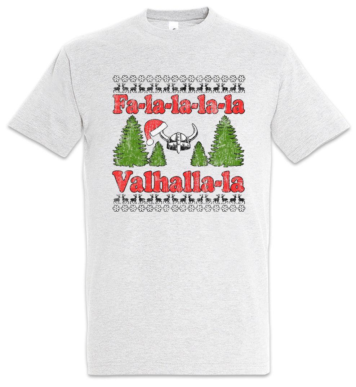 Großhandel Fa La La Walhalla T Shirt Wikinger Wikinger Spaß Frohe  Weihnachten Odin Thor T Shirt Männer Casual Baumwolle Kurzarm Von  Wattystore, ... 2a978f96fa