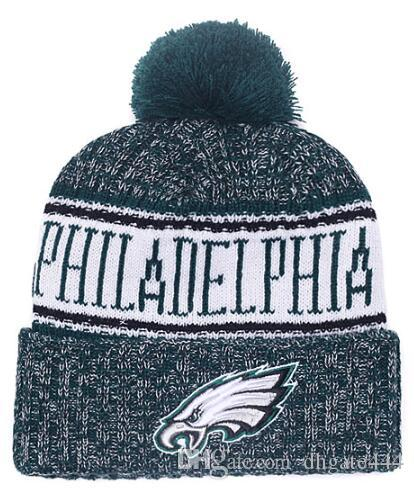 cc46dc0422f New Fashion Winter Philadelphia Hats for Men Women Knitted Beanie ...