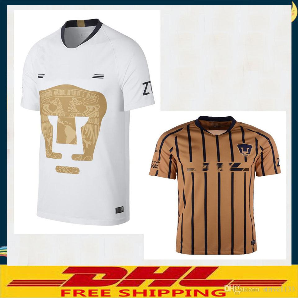 DHL Cougar UNAM 2018 2019 Home Jerseys 2018 2019 Cougar UNAM Soccer ... 786ef37aff
