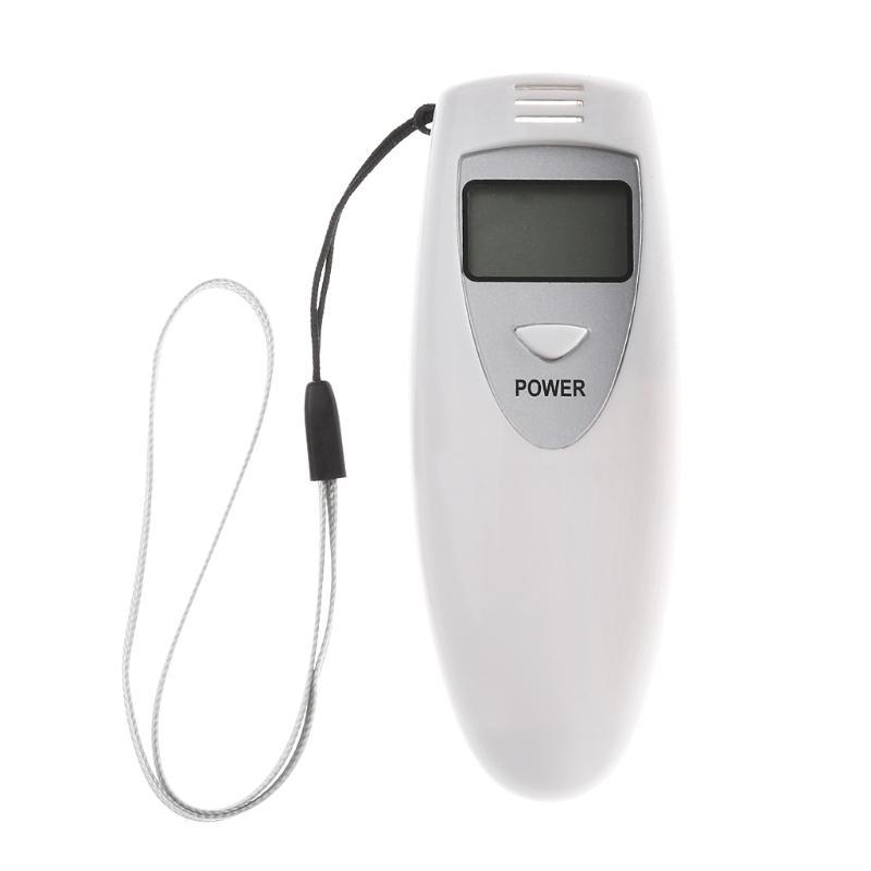 Pocket Digital Alcohol Breath Tester Analyzer Breathalyzer Detector Test  Testing car accessories styling