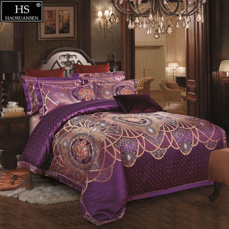 Großhandel Bettbezug Königin King Size Bettwäsche Set Geschenkbox