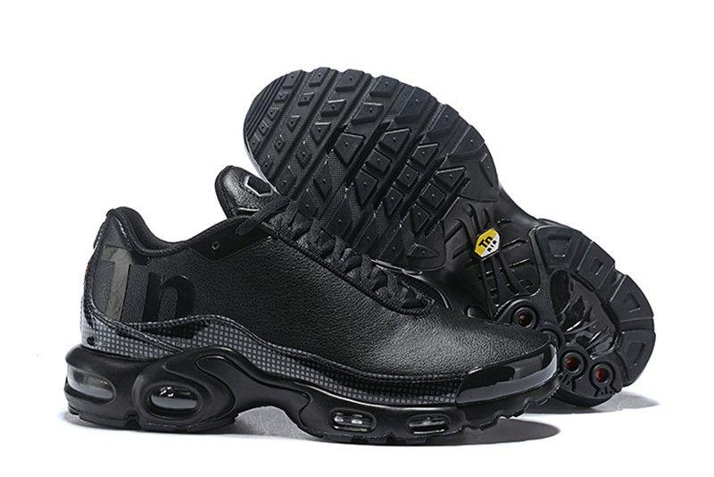 quality design 9733a c48ce Black Mercurial Tn Plus Men Womens Designer Shoes Chaussures Homme Tns Se  8909 Women Running Shoes Zapatos 270s Trainers Eur36-46