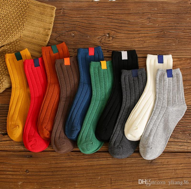 Großhandel 2018 Neue Frauen Socken 100% Baumwolle Antike Damen Feste ...