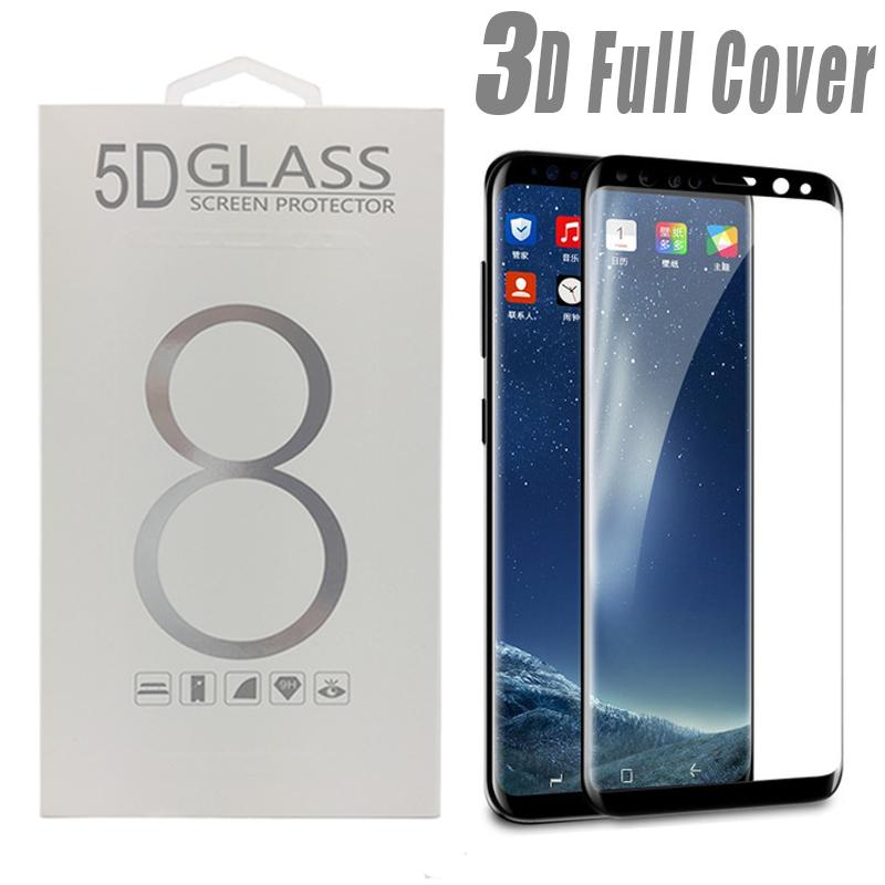 official photos 96272 ccf44 For S10e S10 Plus Tempered Glass Screen Protector Good Quality Case  Friendly 3D For Samsung Galaxy S7 edge S8 S9 Plus Note 9 8 with Package