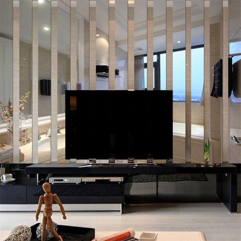 Großhandel DIY 3D Spiegel Wandaufkleber Kinder Schlafzimmer ...