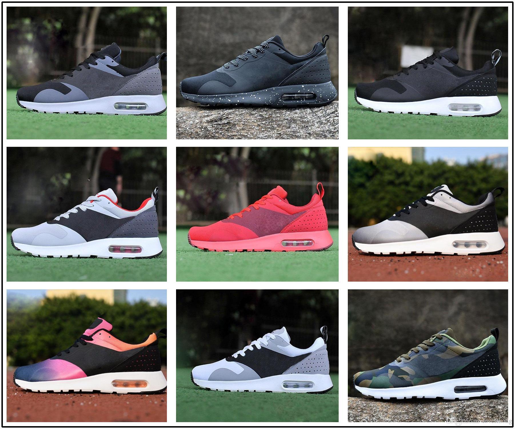 new concept fab77 701bf Acquista 2018 Nike Air Max 1 87 90 AirMax Alta Qualità Nuova Thea 87 90 AS  Tavas Sneakers Uomo Scarpe Da Corsa Casual Scarpe Da Passeggio Zapatillas  Taglia ...