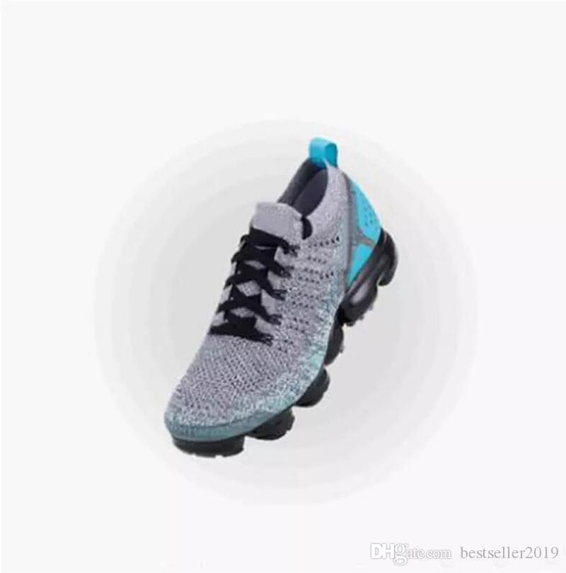 en soldes 65012 8d798 2018 Air Cushion Chaussure 2.0 Mens Running Shoes Brand Fashion Luxury  Designer Womens Sneakers Athletic Sports Jogging Outdoor Run Shoe