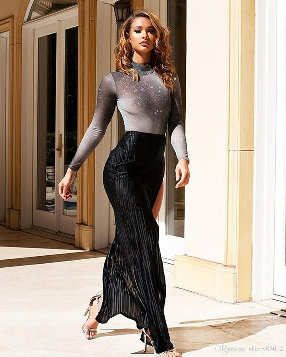 2019 Hisimple Womens Sexy Dress Suit Woman Two Piece Set Top And