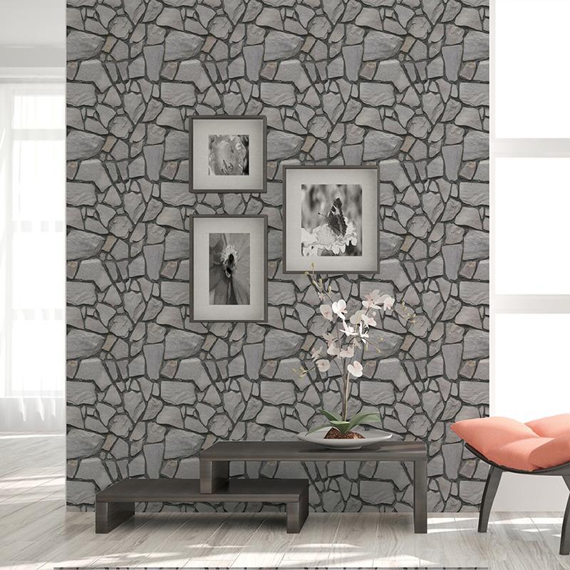 diy stone pattern 3d wall stickers bedroom decor foam brick room