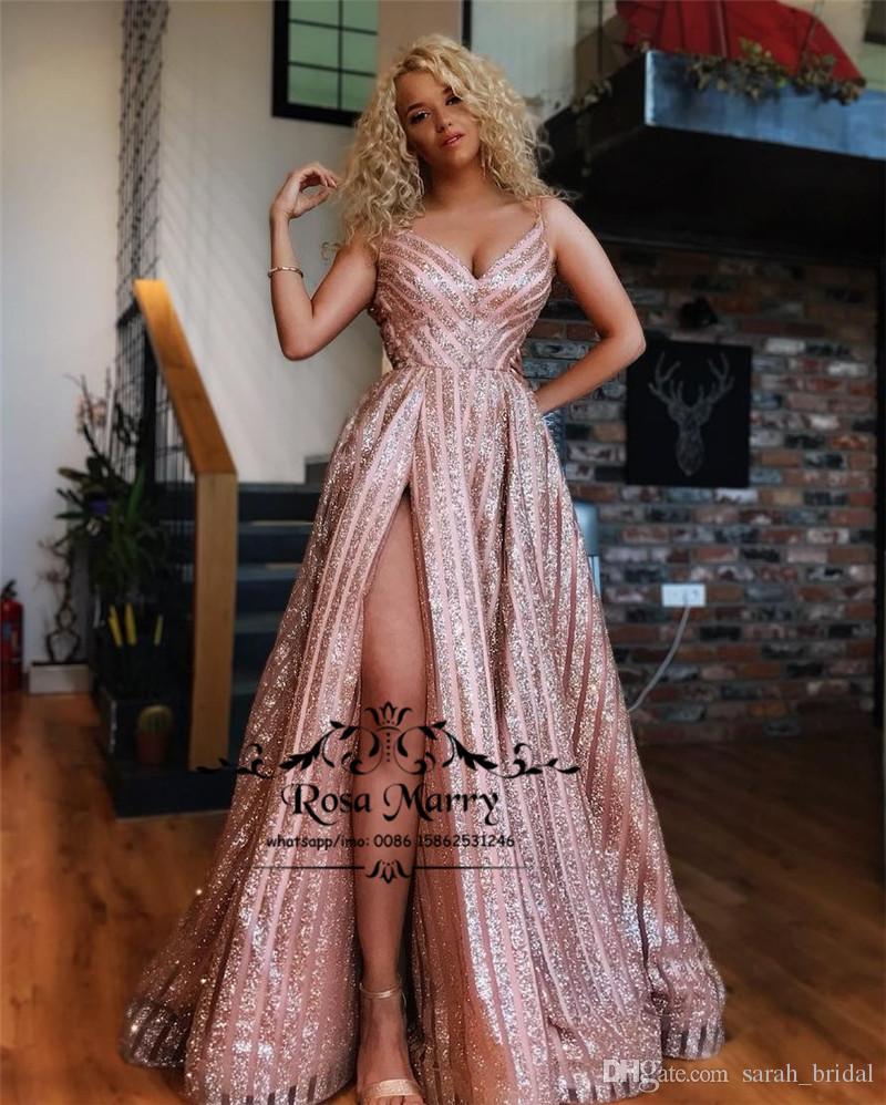 Cheap Tea Length V Neck Evening Dress Discount Blue Satin Long Evening  Dresses 98b707cda7b4