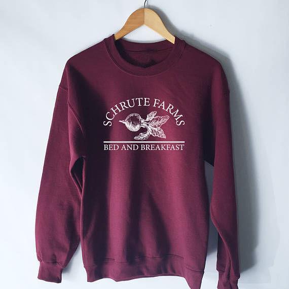 Grosshandel Frauen Tumblr Sweatshirt Schrute Farms Hoodie Das Buro