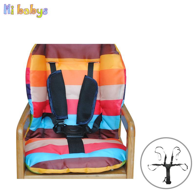 Acheter Bebe Poussette Ceinture 5 Point Harnais Sangle De Securite Kid Chaise Haute Sur Siege Voiture Infantile Accessoires