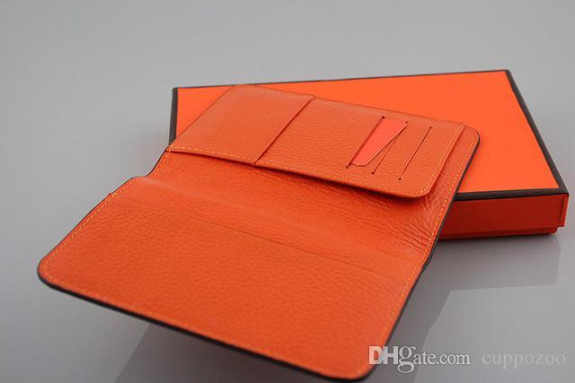 Heißer verkauf 2018 Marke Echtes Leder Passinhabers Männer Brieftasche Hohe Qualität Echtes Leder Mehrere ID Kartenhalter brieftasche Passdecke